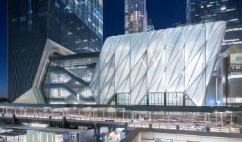 "DS+R新作""The Shed 艺术中心"", 在纽约哈德逊广场开幕"