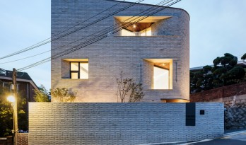 都市隐宅的几何韵律:首尔平昌洞