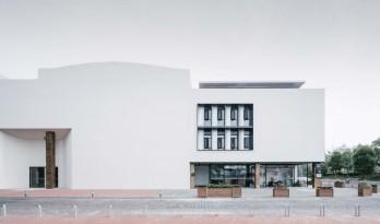 素胚瓷片,曲线勾勒,上海申窑艺术中心(一期)/ 刘宇扬建筑事务所