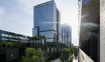 城市里的院落——广州南沙金茂湾综合体 / 柏涛设计
