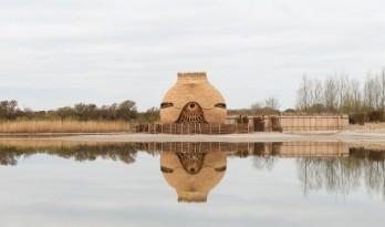 栖息于水畔的水鸟蛋:Tij 观鸟屋 / RO&AD Architecten