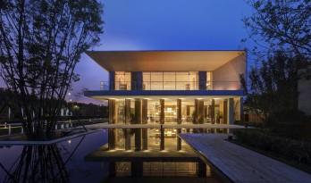 沈阳浑南万达生活艺术中心——一场关于简约与写意的思考 / 基准方中建筑设计