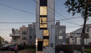 麻雀虽小,五脏俱全:美国迷你塔公寓 / ISA- Interface Studio Architects