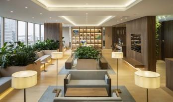 归于自然——高楼中的联合办公设计 / UDS 誉都思建筑咨询有限公司