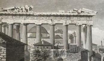 帕提农神庙的山花上,到底雕刻了些啥?