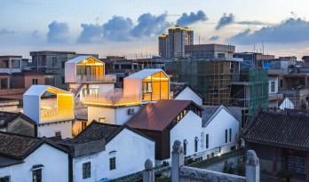 众筹来的天台公共空间——新基白房子民宿群 / 竖梁社建筑