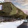 """仿佛一艘""""绿色飞船""""——马德里市政图书馆方案 / 3GATTI"""