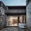 唤醒记忆,沧桑而有年代感的老房子改造:观茶庭 / 南京悦设空间设计
