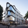 IV Castle Lane 公寓,曲线转角柔化城市尺度 / DROO