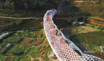 陌上花开的乡土景观——福建大田绿道规划设计(附视频) / 上海选泉设计