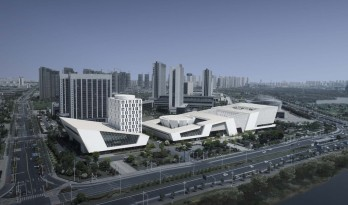 淮安市城市博物馆、图书馆、文化馆、美术馆 / 同济大学建筑设计研究院