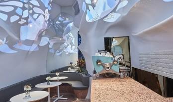 凝固的海水与游动的珊瑚——Blufish盈科店 / SODA建筑师事务所