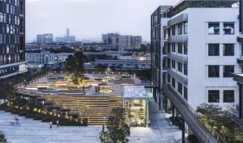 城市之中的一抹抹绿意:种植平台和体验馆 / 墨照建筑设计事务所