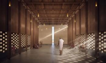 塞内加尔和平馆国际建筑竞赛第一名项目方案 / 蔡长泽