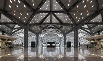 宏伟钢柱支撑树状结构:哈拉曼高铁站 / 福斯特合伙人建筑事务所