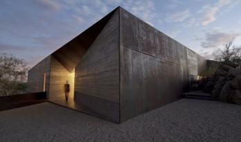 粗野主义,禅宗花园——沙漠中的精致住宅