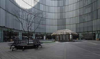 坐井观天,上海喜玛拉雅中心无极场茶室设计 / 上海善祥建筑设计