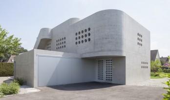 宛如一座柔和朴素的雕塑:Neuhofweg 住宅 / Beck + Oser Architekten