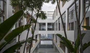 吉隆坡阿丽拉孟沙酒店,内嵌的庭院 / 如恩设计研究室