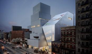 """OMA 在纽约首个公共建筑,与 SANAA""""纽约新当代艺术博物馆""""做邻居"""