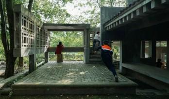 """红砖美术馆之后,董豫赣在乡下建了座现代版""""古典园林"""""""