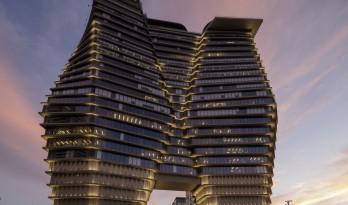 颠倒的冰山:ToHA 办公楼 / Ron Arad Architects