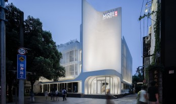 直面轻风,柔化的气场——静安商楼建筑更新 / ArchUnits|一栋设计工作室