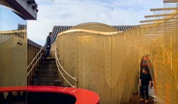 传统中国元素的现代碰撞:北京雀巢感 CAFÉ / RSAA/庄子玉工作室