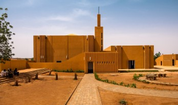 HIKMA图书馆:宗教与世俗完美结合的综合体 / atelier masōmī + studio chahar