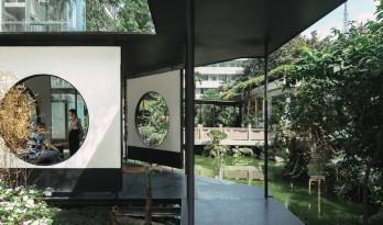 侠客岛花园岛庭院更新 / 門口建筑工作室