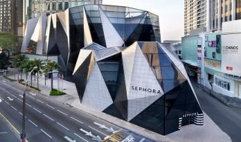 动感十足,经典时尚的城市雕塑——马来西亚吉隆坡升喜廊改造 / Spark Architects