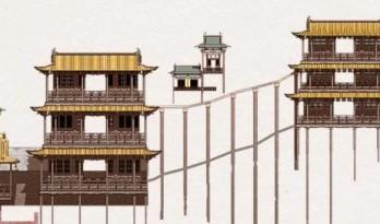 中国第一空中楼阁,是如何建成的?
