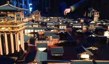 筑影专访:《长安十二时辰》沙盘模型——建造一座长安城