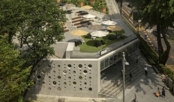郁郁葱葱的城市花园:Design Orchard 孵化器 / WOHA
