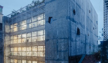 OpenAsia 集团总部,两个核心筒吊起的桥梁办公楼 / G8A Architecture & UrbanPlanning