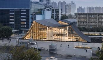 交织时空 | 可以阅读的城市展厅 / 天华建筑设计