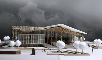 湖南大学建筑学院2015级大跨设计作品展