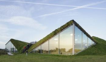 湿地景观里的大地艺术雕塑:荷兰 Biesbosch 博物馆岛 / Studio Marco Vermeulen