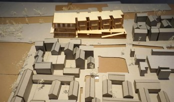 山东建筑大学17级工艺美术馆模型成果展示