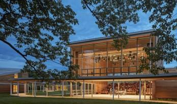 波士顿交响乐团林德中心对公众开放,四座红橡木建筑联合打造音乐圣地