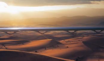 MAD + HyperloopTT:Hyperloop的可持续通行隧道及车站系统