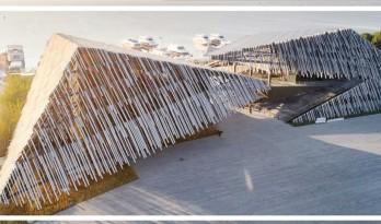 由隈研吾打造的中国最美客运站,喜提世界建筑大奖!网友:这是「茅草屋」吧?