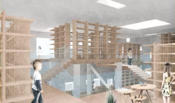 爱丁堡大二学生作品:Biblioteca Infantil de Valencia | 别人家