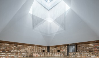 过去与未来的交织重构——沣东阿房书城 / 巨汇设计