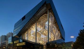 OMA 设计的柏林 Axel Springer 新媒体园区即将完工