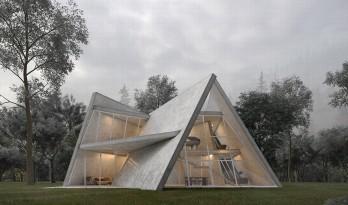 伊朗森林小屋 / MADO Architects