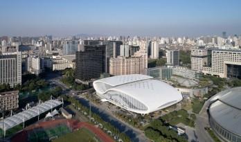 浙江黄龙体育中心游泳跳水馆 / 中南建筑设计院