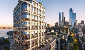 "Heatherwick 在美国的第一个住宅项目——""灯笼楼"""