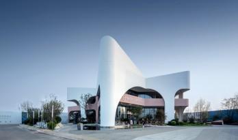 远洋蔚蓝海岸第三食堂 - 北北美食中心 / 上海彬占建筑设计
