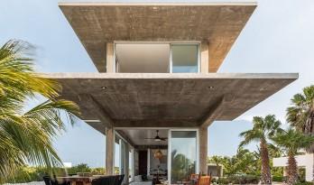 恰似蝴蝶款款飞:双生子度假屋 / Laboratorio de Arquitectura